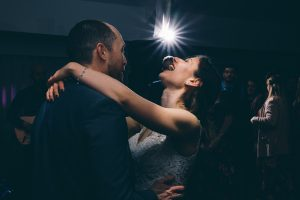 Fun at the first dance