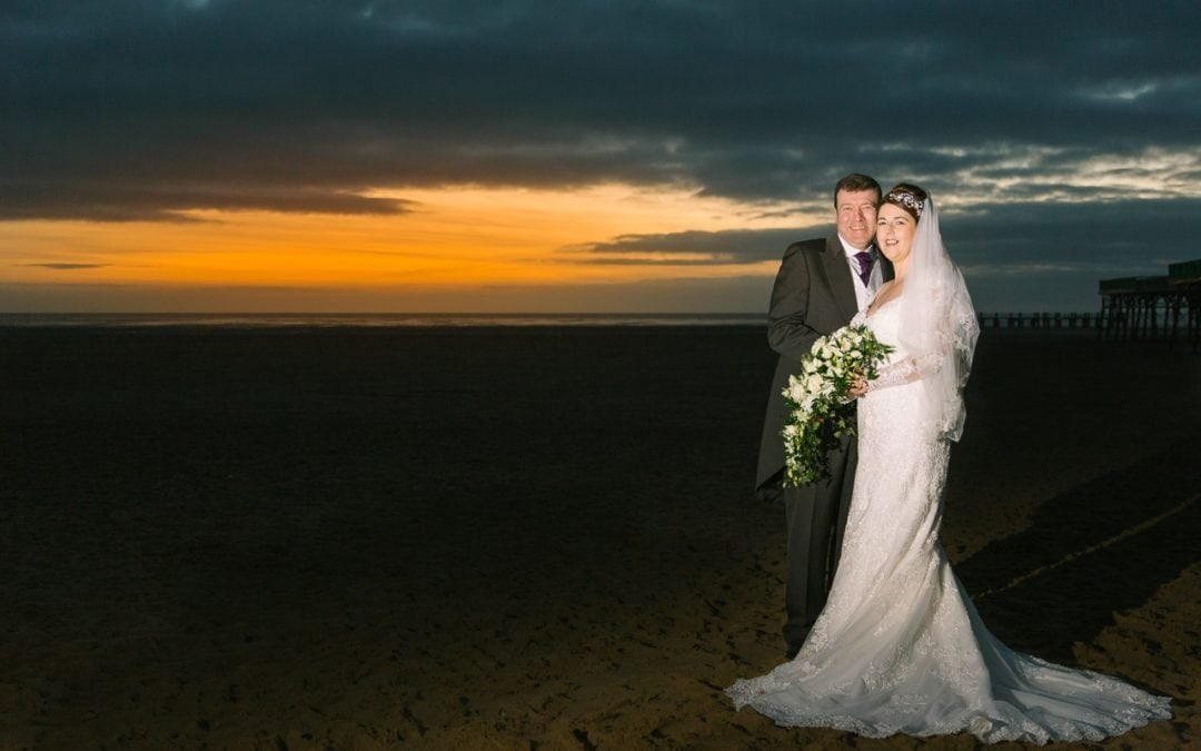 Emma and Lee's amazing Lytham St. Annes Wedding
