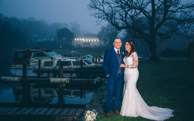 Claire and Dave's rather fabulous Swan Hotel wedding
