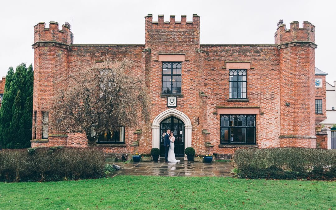 Katie and Matt's intimate wedding at Crabwall Manor