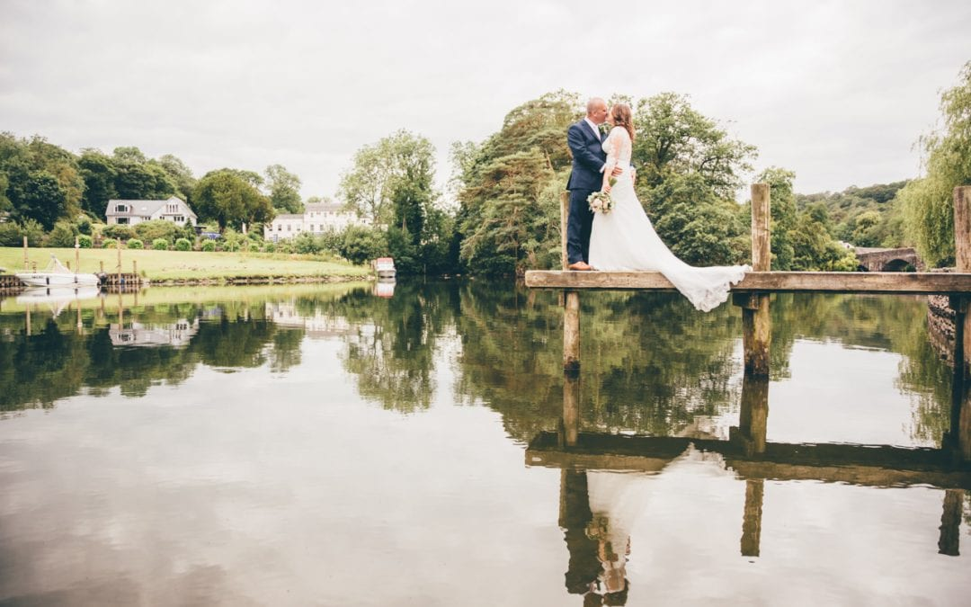 Super Stylish Swan Hotel Wedding