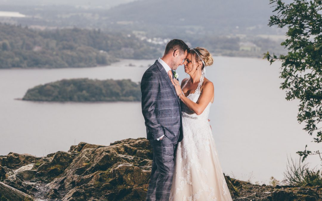 A Romantic Wedding at Lodore Falls