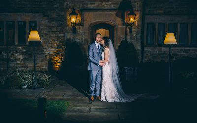 Kat and Simon's wonderful winter wedding at Stanley House