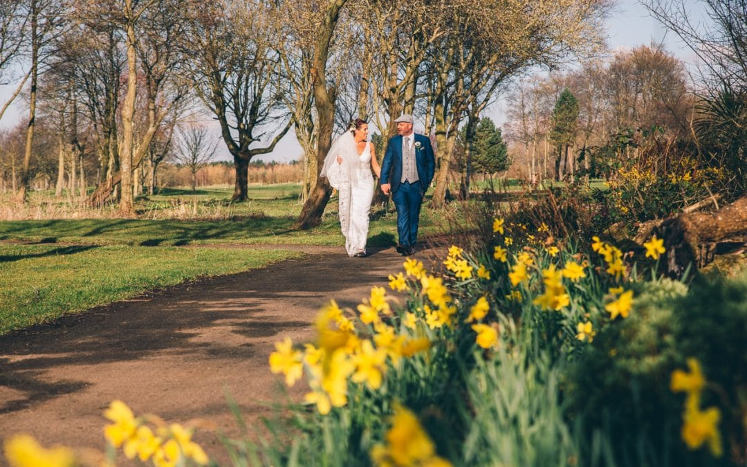 Formby Hall – Lisa and John's springtime wedding.
