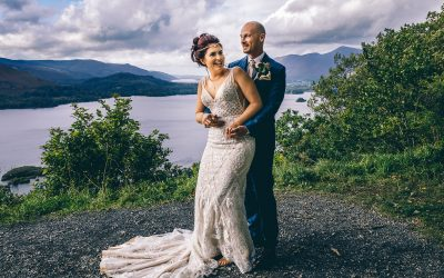 Melanie and Darren's Intimate Wedding Celebration