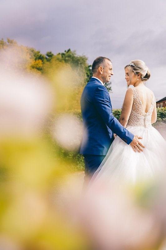 intimate wedding day
