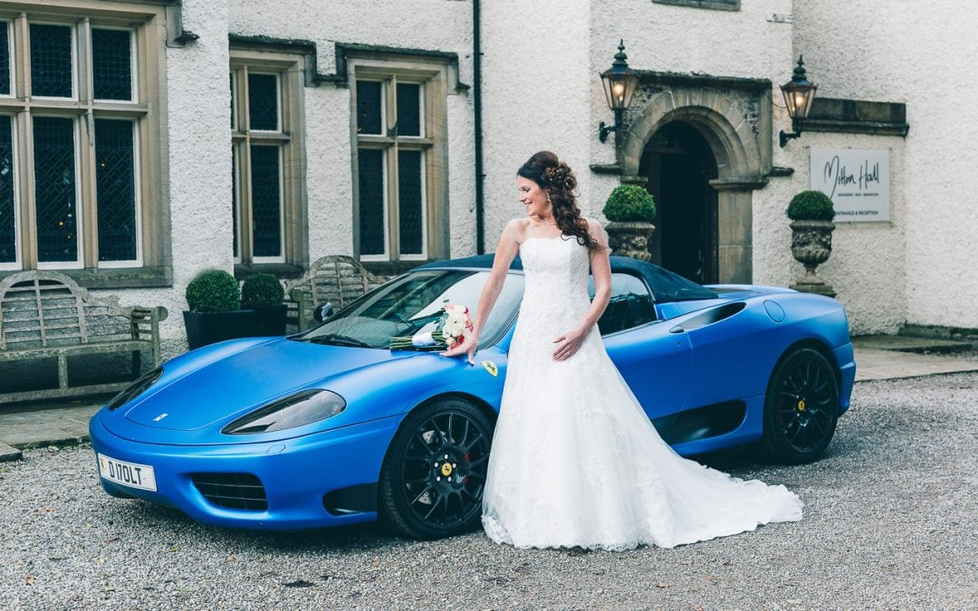 Victoria and Stan's Simply Gorgeous Blue Mitton Hall Wedding