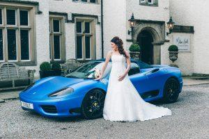 Gorgeous Blue Mitton Hall Wedding