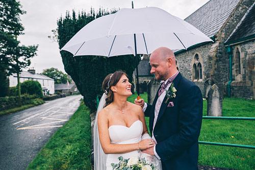 Bride and Groom in Kendal