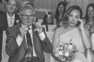 Emotional Bridal Party