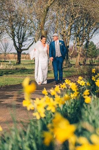 Formby Hall Spring Wedding