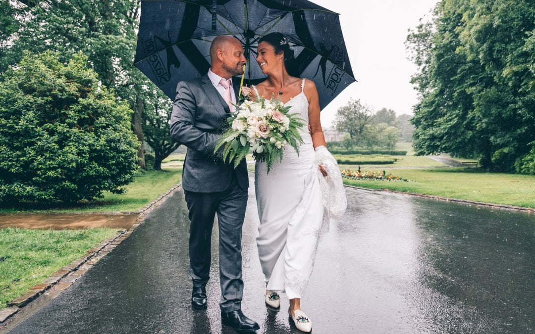 A Rather Wet But Fun Mesnes Park Wedding