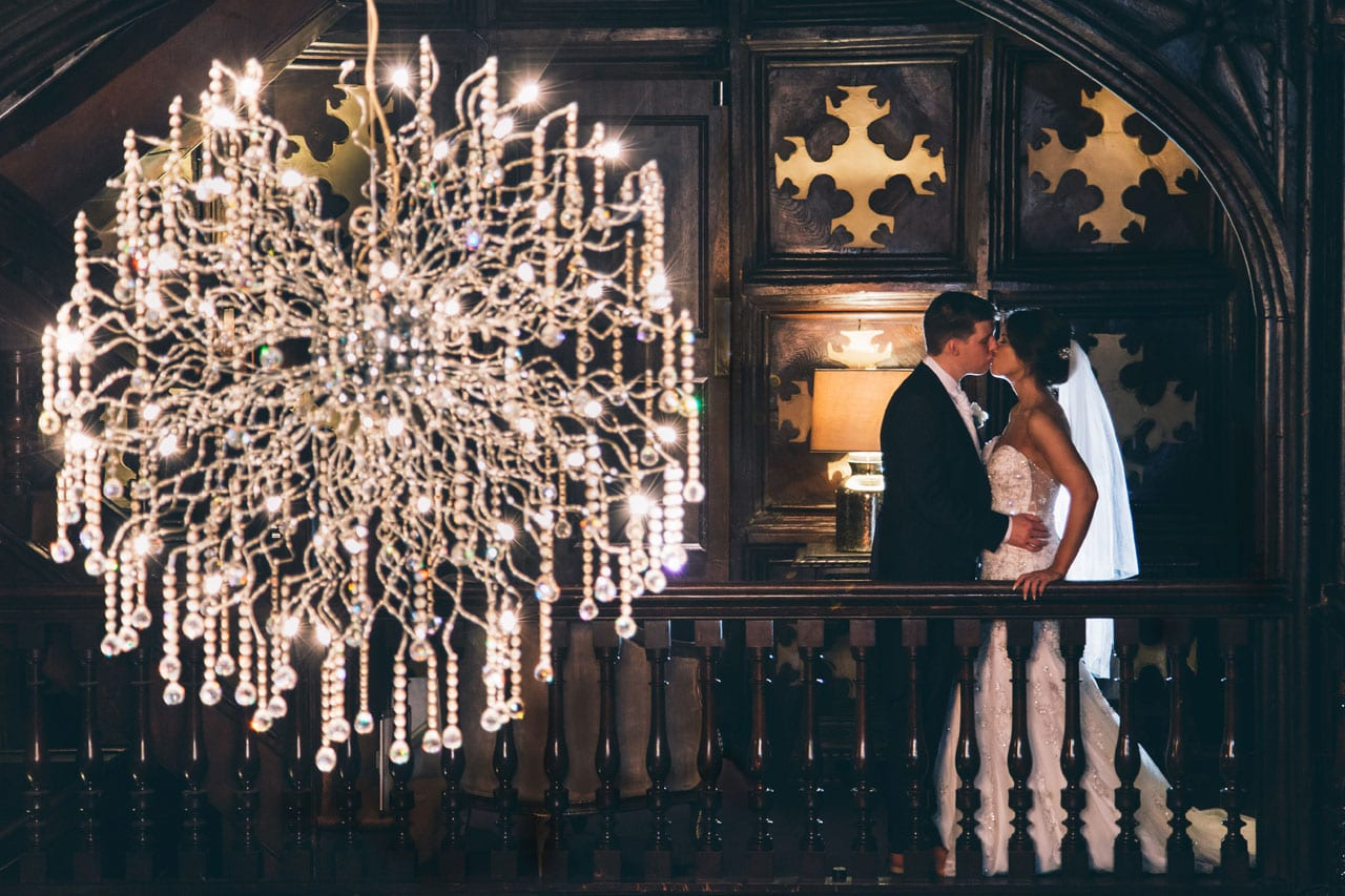 Bride and Groom at Mitton Hall