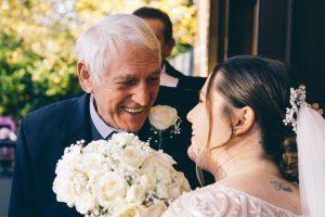 Grandad with bride
