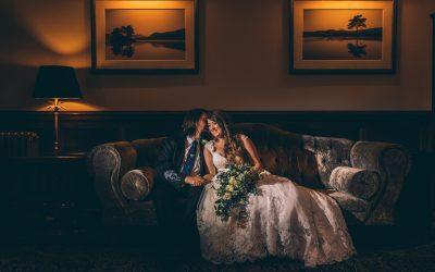Intimate family Armathwaite Hall Wedding