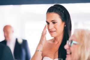 Emotion during the ceremony