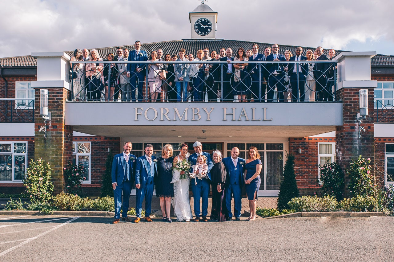 The Group Photo at Formby Hall