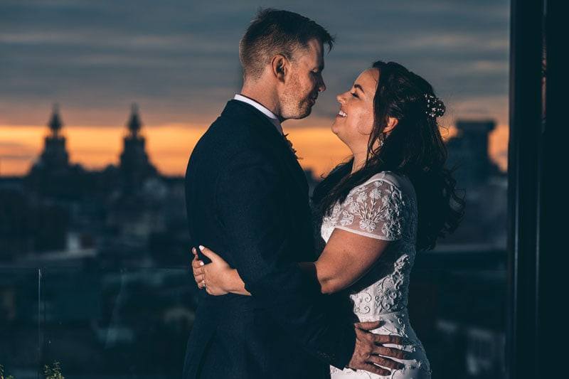 Pretty as a Picture Hope Street Hotel Wedding Photography